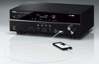 Yamaha AV-Receiver RX-V377: Perfekter Heimkino-Einstieg mit 5.1-Surround-Sound und 4K/Ultra-HD - das beste Film- und Gaming-Erlebnis mit Cinema DSP und Extra Bass