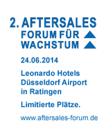 2. Aftersales Forum für Wachstum am 24.06.2014 in Düsseldorf