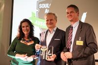showimage Lothar Seiwert wird der Soul@Work Award 2014 verliehen