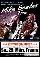 Mike Seeber Trio, Gewinner der German Blues Challenge, am 29. März 2014 im Berliner Frannz-Club