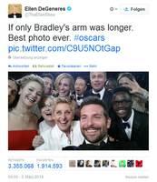 Das Oscar-Selfie aus Marketing-Sicht