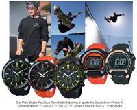 Pulsar X - Markteinführung einer neuen Sportuhrenkollektion