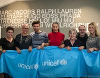 Vite EnVogue verkauft Kleidung bekannter Spender zugunsten von UNICEF
