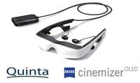 Quinta ist neuer Distributor der ZEISS cinemizer OLED Multimediabrille