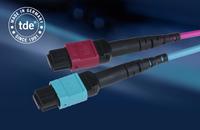 Neue MPO-Applikationen von tde sind für die Highspeed-Übertragung bestens gerüstet