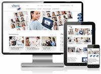 Relaunch der Website von vitero - Virtuelle Kommunikation in modernem Design