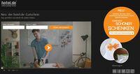 hotel.de startet innovative Videokampagne zum neuen Gutscheinshop