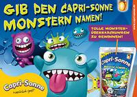 Namen für die Capri-Sonne Monster gesucht