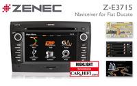 Zenec Z-E3715: Ideal Camper Navigation System for Fiat Ducato