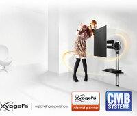 CMB-Systeme erweitert Angebot um wahrscheinlich schönsten TV Wandhalter der Welt