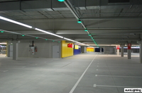 euroLighting: Verkehrssichere LED-Beleuchtung für Parkhäuser