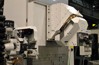 5-axis-machining with Heckert continuous swivel head