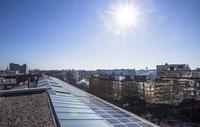 Berliner Gewerbehöfe realisieren Energiewende: ORCO-GSG installiert größte Photovoltaikanlage Berlins