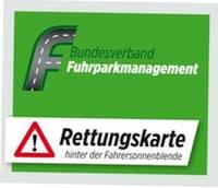 Fuhrparkverband empfiehlt Rettungskarten für alle Firmenwagen