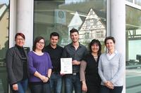 Das junge Logistikunternehmen Briefkastenfreunde Taubertal GmbH erhält das WQS-Siegel