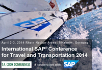 Westernacher Consulting Premium Sponsor at International SAP® Conference for Travel and Transportation 2014 - Global Operational Excellence for Logistics Service Providers