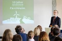 Ökostrom-Pionier NATURSTROM AG seit 10 Jahren in Forchheim