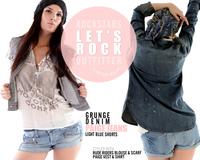 Paige Jeans & Ruderiders - Wild at heart - Denim & Co. bei La Purpura de la Rosa