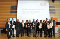 Preis für Online-Partizipation 2014 in Berlin verliehen