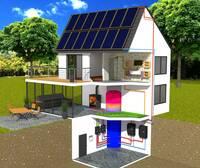 Ausgeklügelte Solar-Systeme für Sonnenhaus-Heizung und Prozesswärme