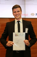 Bayreuther Student Nico Kubach ist Stipendiat von Join the best 2014
