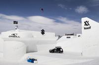 Oscar Wester (SWE) gewinnt den Big Air Contest beim Suzuki Nine Knights presented by GoPro