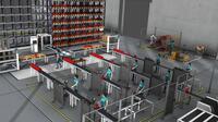 In 3D simuliert und optimiert: DUALIS zeigt neue Perspektiven der Anlagen- und Logistikplanung