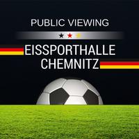 Public Viewing   Eissporthalle Chemnitz   Deutschland - Portugal