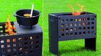 LEDA Werk: Die Quadratur des Feuers - Guss-Box zeigt Transparenz - mit Ecken und Kanten