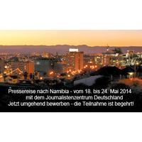 Journalistenzentrum Deutschland organisiert Pressereise nach Namibia