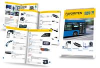 """Jetzt neu bei EUROPART: Frühjahrs-Broschüre """"Favoriten Bus"""""""