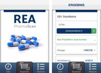 Neue PharmaScan App von REA