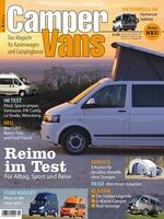 CamperVans - Das neue Magazin für Kastenwagen und Campingbusse