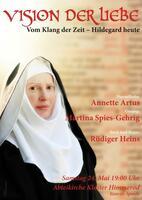 Hildegard von Bingen im Kloster Himmerod