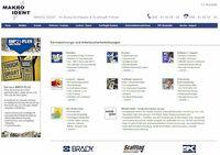 MAKRO IDENT - Brady-Distributor mit über 34.000 Brady-Artikeln