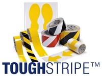 Sicherheitskennzeichnung: Bodenmarkierungen der Brady ToughStripe-Serie