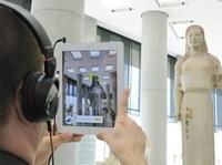 Die prächtigen Gewänder der Artemis: Fraunhofer macht Kulturerbe interaktiv erlebbar