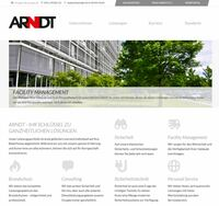 Sicherheitsunternehmen ARNDT-Gruppe aus Fürth mit neuer Website
