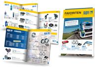 """Von EUROPART für Werkstatt-Profis: Broschüre """"Favoriten Mai/Juni"""""""