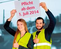 GTÜ: Warnweste ab Sommer auch in Deutschland Pflicht