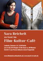 """""""Buchpräsentation von """"LIES MICH"""" in Berlin - ein Roman aus Perspektive der Bücher"""