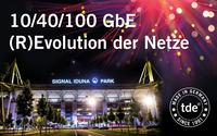 Heimspiel für Netzwerkspezialist tde:  (R)Evolution der Netze-Roadshow startet im BVB-Stadion
