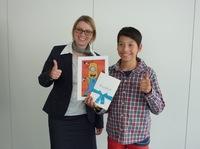 Yannis Kalkoffen ist Gewinner des StreetArt-Wettbewerbs