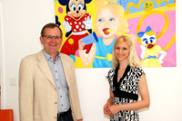 Vernissage der Pop Art Künstlerin Tanja Playner