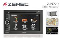 Z-N720: Zenec 2-DIN Naviceiver mit innovativer Navi-Software
