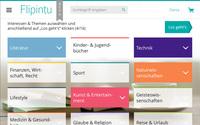 Neue Dimension des Lesens im Web: Themenplattform Flipintu gestartet