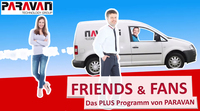 "Video zu ""Friends & Fans"", dem Partnerprogramm von PARAVAN"