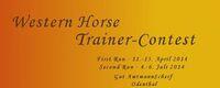 Western Trainer Contest Finale 2014 auf Gut Amtmannscherf in Odenthal