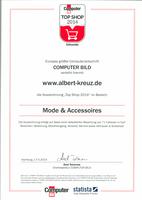 Computer Bild hat getestet: ALBERT-KREUZ.de hat das TOP SHOP 2014 Siegel erhalten