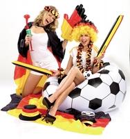 Brasilien, Fußball und sexy Deutschland: Flagge zeigen für die deutsche Mannschaft